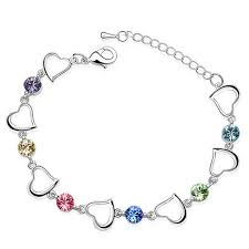 bracelets for trendy bijouterie from swarovski charm bracelets for women