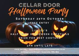 halloween party on 28 october at 18 00
