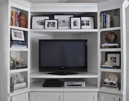Tv Stands With Bookshelves by 9 Best Tv Stand Images On Pinterest Corner Tv Shelves Corner Tv