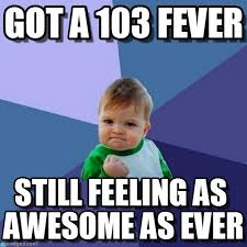 Fever Meme - got a 103 fever success kid meme on memegen