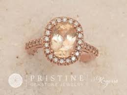 padparadscha sapphire engagement ring sapphire engagement rings by pristine gemstone jewelry