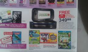 wii u black friday sales target target advertises wii u by showing a wii console nintendo