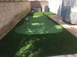 Backyard Artificial Grass by Premium Artificial Grass Backyard Putting Greens