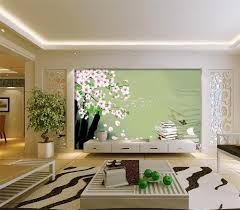 compare prices on wallpaper livingroom flowers online shopping