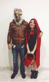 Wolf Halloween Costume Girls 31 Creative Couples Costumes Halloween Couple Halloween Red