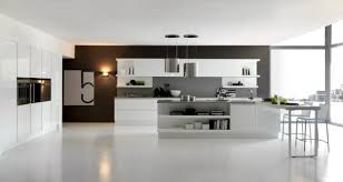 elegant and inviting contemporary kitchen design idea with stylish