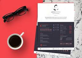 10 fresh free resume design templates for july 2017