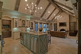 custom home interior kitchen living room interior hill country home builder is