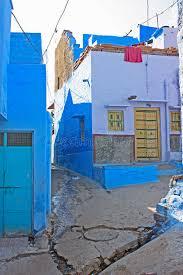 chambres bleues chambres bleues à jodhpur photo stock image du extérieur 39687068