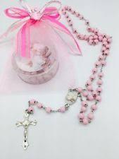 rosary favors for baptism baptism rosary ebay