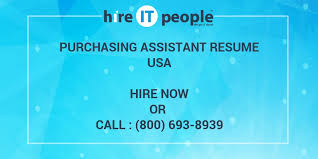 Purchasing Assistant Resume Sample by Purchasing Assistant Resume Hire It People We Get It Done