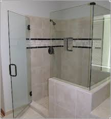 cost of glass shower doors cost of tile shower smartly design troo