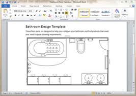 bathroom design templates free bathroom plan templates for word powerpoint pdf