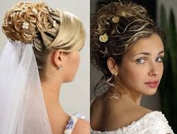 bridal hairstyle pics stylish hairstyle with long and short hairs with veil for wedding