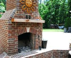 fireplaces birmingham al this wood burning outdoor fireplace features a solid cedar mantle and is wired fireplaces birmingham al