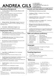 Resume For First Job For Students by Résumés Today U2014 Professional Modern Resume