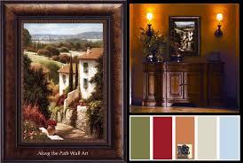 tuscan color palette com design choosing color by style