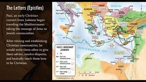 New Testament Map Development Of New Testament Youtube