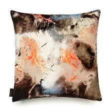 Cushions Velvet Cloudbusting Peach Cotton Velvet Cushion 17 Patterns