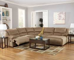 Microfiber Reclining Sofa Marcy Contemporary Microfiber Recliner Sofa Sectional Set
