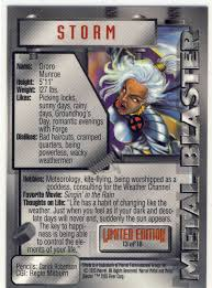 heartbreaking cards of staggering genius 1995 fleer marvel metal