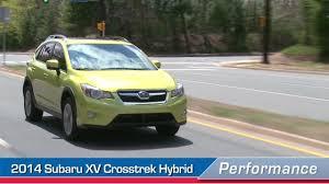 Subaru Xv Crosstrek Interior 2014 Subaru Xv Crosstrek Hybrid Videos Performance U S News