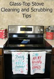 How To Clean A Glass Top Cooktop Kitchen How To Clean A Glass Top Stove Tos Diy With Regard