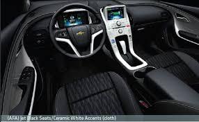 2011 Silverado Interior Chevy Volt Trim U0026 Color Options Mychevroletvolt Com