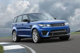 range rover sport blue range rover sport svr uk prices specs and pictures pictures