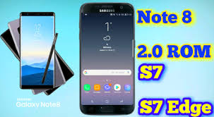 Install Android Nougat On Galaxy Note 8 0 Note 8 2 0 Rom For Galaxy S7 S7 Edge Sstech