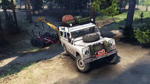 white land rover defender land rover defender series iii v2 2 white for spin tires