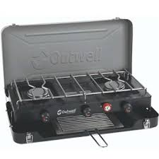 Toaster Burner Outwell Deluxe 3 Burner Stove And Toaster Campingworld Co Uk