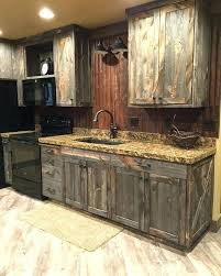 Rustic Kitchen Furniture Rustic Kitchen Furniture Pleasant Idea Cabinets Best Within
