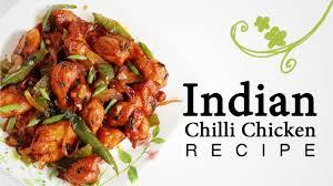 spicy chilli chicken in restaurant style easy indian chicken
