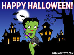 the halloween tree background betty boop pictures archive betty boop halloween wallpapers