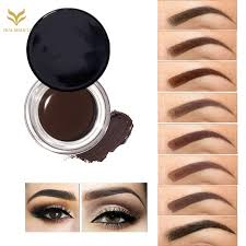 Henna Eye Makeup Professional Eye Brow Tint Makeup Tool Kit Waterproof High Brow 5