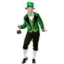 leprechaun costume men s deluxe leprechaun costume my fancy dress ireland