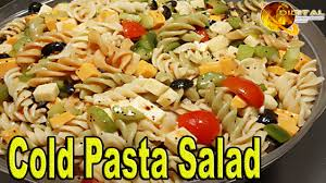 cold pasta salad u201d cooking recipes desi u0026 continental recipes