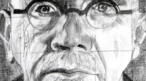 how to use the grid method with a drawing of chuck close as an