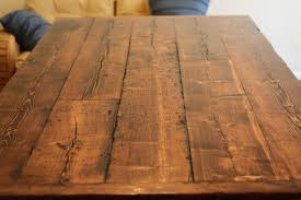 Building Dining Table Top How To Build A Reclaimed Wood Kitchen York Dining Table By District Yliving Top Detail Arafen