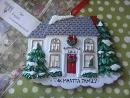 house ornament personalized 45degreesdesign
