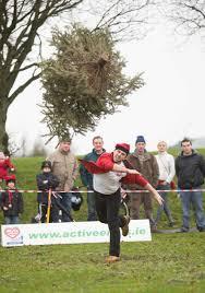 what a success irish international christmas tree throwing