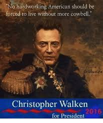 Christopher Walken Cowbell Meme - no hardworking american should be forced to live without more