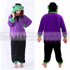 new women men igor monster costumes onesies fleece
