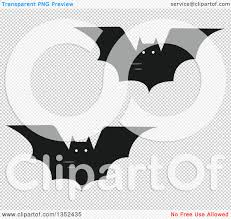 halloween bats transparent background clipart of flying vampire bats royalty free vector illustration