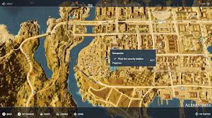 Alexandria On A Map Assassin U0027s Creed Origins All Papyrus Locations Shacknews