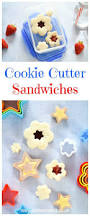 flower and star cookie cutter sandwiches eats amazing
