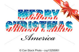 merry america merry with usa flag style