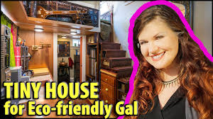Design Your Own Eco Home Eclectic Eco Friendly Tiny House With Two Lofts Youtube Loversiq