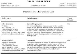 Resume References Sample by How To List References On A Resume Best Template Collection